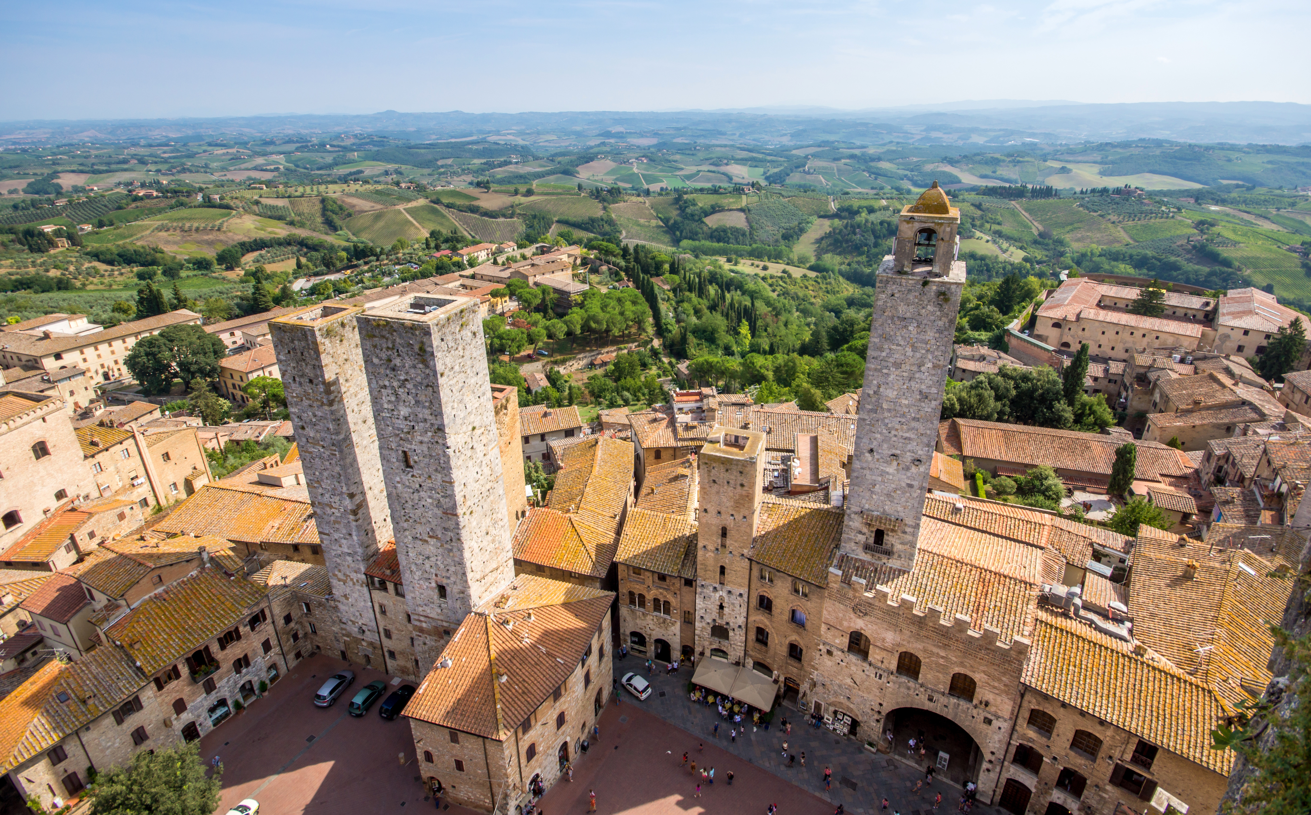 Road trip in Tuscany: Florence, San Gimignano, Pisa and Lucca