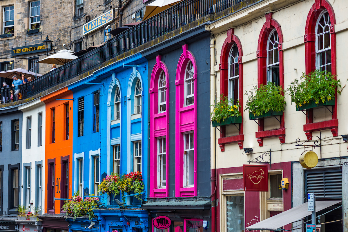 Most Instagrammable places in Edinburgh